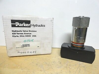 Parker * Hydraulic Valve * Part Number N1600Sf * New In The Box