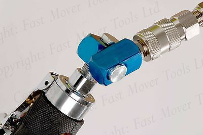 "Air Line Hose Swivel Connector Tool 1/4"" Bsp High Quality Spray Gun Compressor"