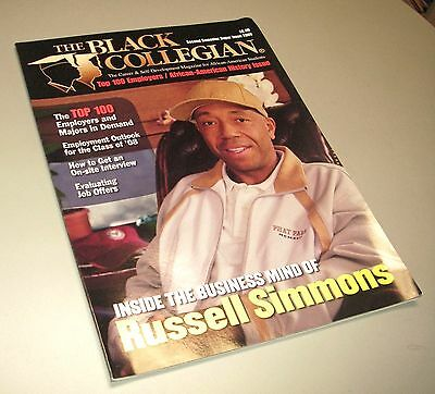 RUSSELL SIMMONS Black Collegian Magazine VERNICE ARMOUR History Issue NEW 2008