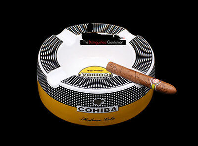 Cohiba Classic Ceramic Round 4 Cigar Cigarette Ashtray