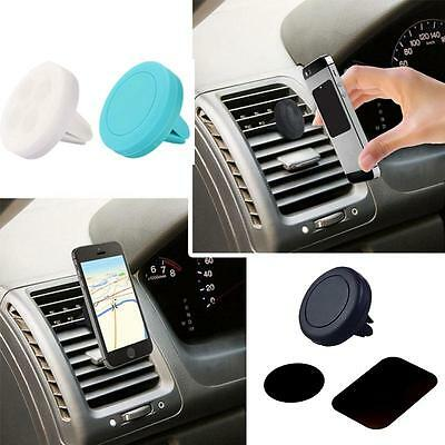 Universal Magnetic Support Cell Phone Holder GPS Stand Car Air Vent Mount Clip