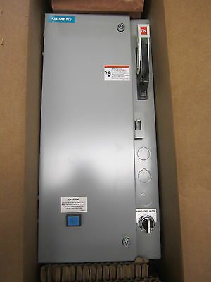 Siemens Size 1 Fusible Combination FVNR Heavy Duty Motor Starter - 17DUC92BF10