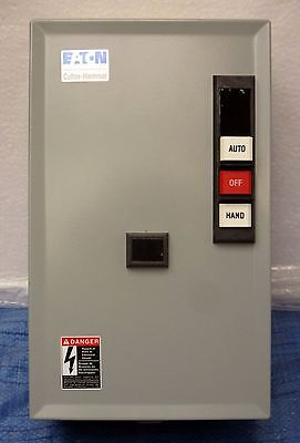 Cutler Hammer Enclosed 12 Pole Lighting Contactor ECC04C1ABA - NIB!!!