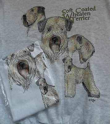 Wheaten Terrier Sweatshirt  & T-shirt Set  Size Large ( 42 ~ 44 )
