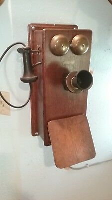 Antique Crank Phone and it works with your every day basic telephone system