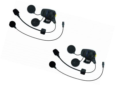 SMH5-FM Bluetooth Headset & Intercom with Built-in FM Tuner for Scooters and Mot