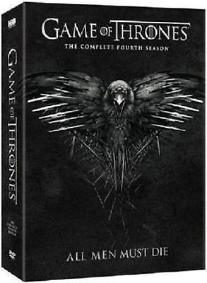 Game of Thrones The Complete Fourth Season 4 (DVD, 2015, 5-Disc Set) Brand New!