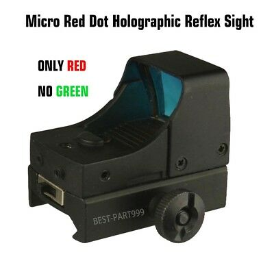Tactical Compact MINI Micro Red Dot Holographic Reflex Sight Rifle&pistol