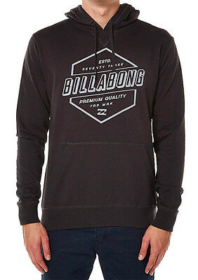 Brand New + Tags Billabong Mens Fleece Lined Hoodie Jumper Large Rasterize Bnwt