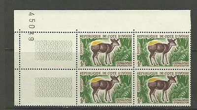 Former French Colonies - 1963 Ivory Coast Animals