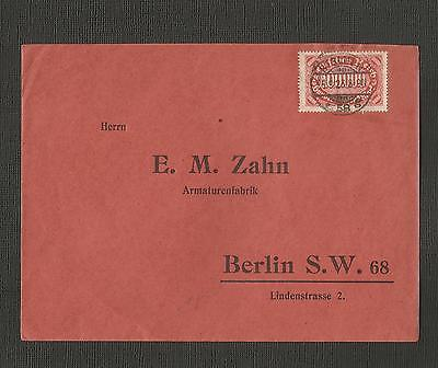Germany ~ 1923 Commercial Cover - Berlin (1) 100,000 Mark