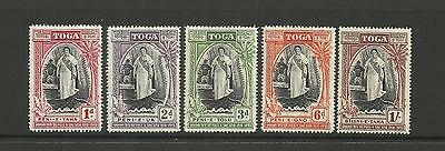 Tonga ~ 1944 Queen Salote Silver Jubilee (Mint Mh)