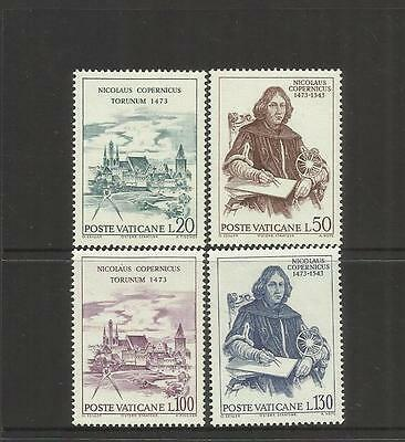 VATICAN CITY ~ 1973 COPERNICUS 500th BIRTH ANNIV. (MINT MNH)