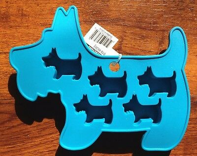 Scottish Terrier Scottie Kitchen Grade Silicon Tray NWT