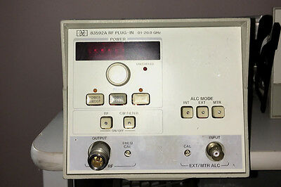 HP83592A  .01 to 20Ghz RF plug in