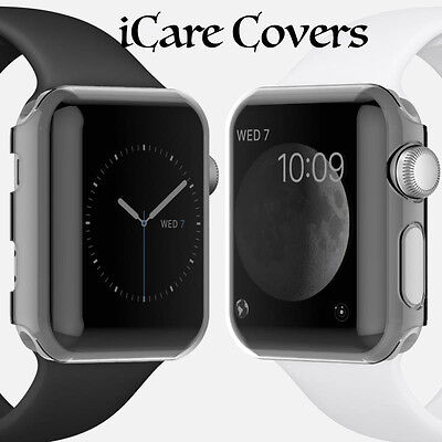 New Hard Snap On Case Cover Protector For Apple i Watch 38mm Series 1/2 (Gray)