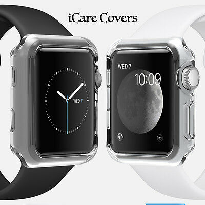 New Hard Snap On Case Cover Protector For Apple i Watch 42MM Series 1/2 (Gray)