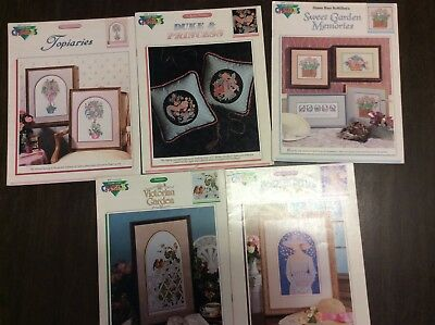 CROSS STITCH GRAPHS  5  ASSORTED DESIGNS Number 2
