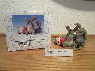 Charming Tails Honey Bunnies Figurine
