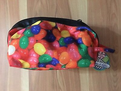 Top Trenz Jelly Bean Cosmetic Bag NWT