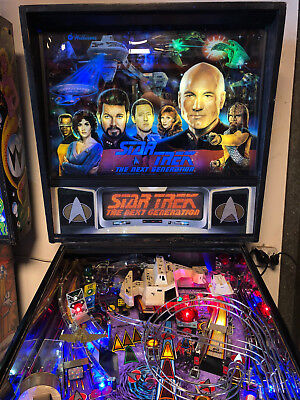 Star Trek Next Generation Pinball Machine Pinballking
