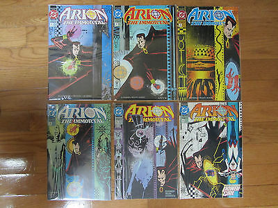 1992 DC Comics Arion the Immortal 6 Issue Mini Series Complete Set