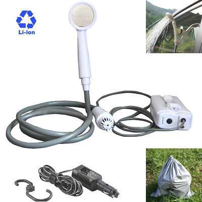 Companion Rechargeable Cordless Portable Shower Water Camping Outdoor Carry Bag
