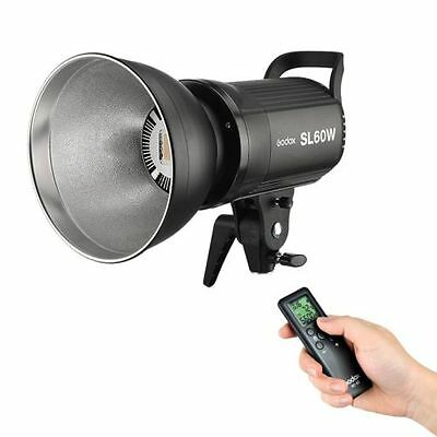 Godox SL60W 5600K Studio Continuous LED Video Light Lamp Bowens Mount + Remote