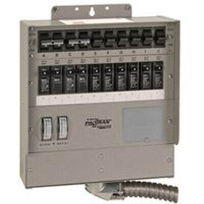 10 Circ Gen Ac Transfer Switch, Single, PartNo 510F6, by Reliance Controls Corp