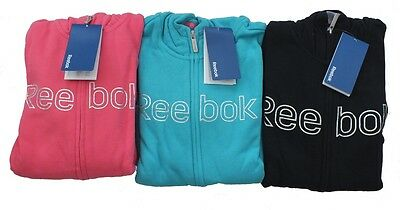 Reebok Junior Holographic Hoody. Boys/Girls Reebok Zipped Hooded Top. Reebok