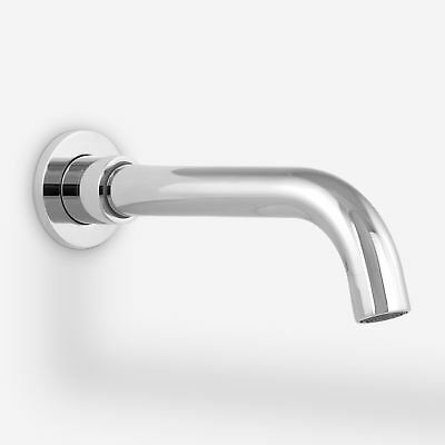 """Gio Wall Mounted Basin Sink Mixer Tap & Concealed Valve 1/2"""" Hot And Cold Mixer"""
