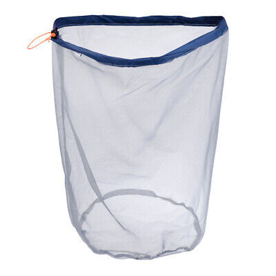 XL/XXL Travel Hiking Camping Drawstring Mesh Stuff Sack Durable Storage Bag