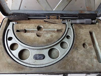 Oxford 125 to 150 mm micrometer, boxed