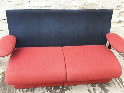 Vintage double padded couch Cinema Seat (Home Cinema Seats) dates from 1980s