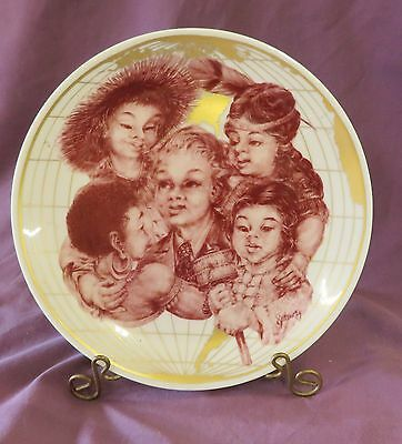 International Year Of The Child 'child's Rights' Plate