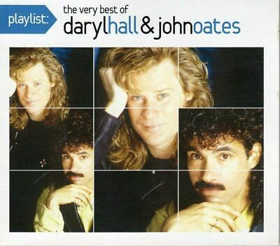 Playlist: The Very Best Of Daryl Hall & John Oates - CD Album Damaged Case