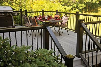 Fiberon Horizon 6' Stair Rail Kit for Composite Deck Rail in Bronze - NEW