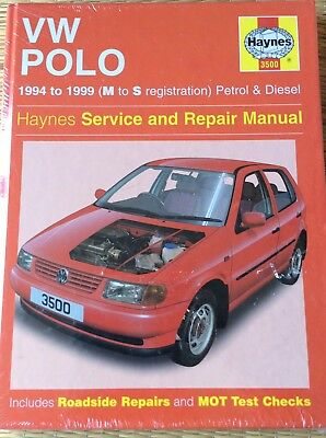 haynes workshop manual for vw polo hatch petrol diesel 94 99 rh picclick co uk Manufacturers Auto Repair Service Manuals Service Repair Manuals Online