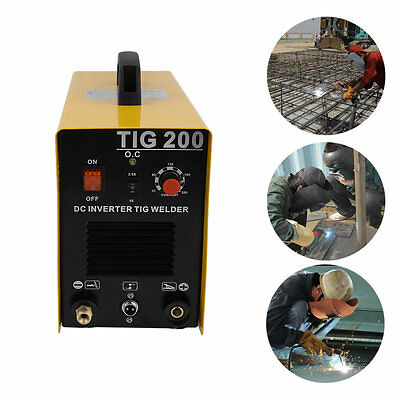 TIG 200 AMP DC FH Pulse dc inverter welding machine stainless aluminum welder #Q