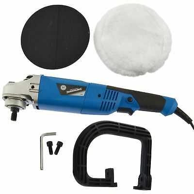 180mm Machine Polisher 1200W Electric Variable Speed Rotary Car Buffer SIL126