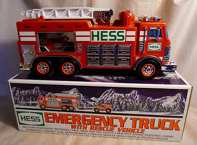 2005 HESS Emergency Truck with Rescue Vehicle - New in Box