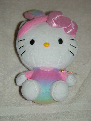 Ty Hello Kitty With Pink Rabbit Ears