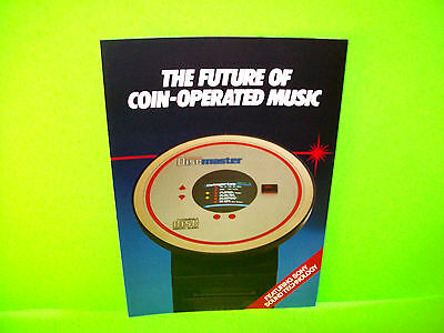 Arbiter Leisure DISCMASTER SONY CD Jukebox Phonograph Original NOS Sales Flyer