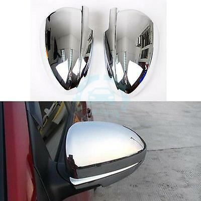 2*ABS Chrome Side Mirror Cover Trim Fit For Chevrolet Cruze 2009-2014