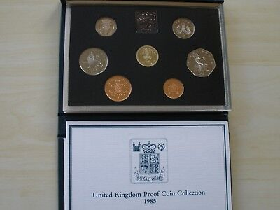 1985 Proof Set - 7 Coins - Fdc - Uk Post Free