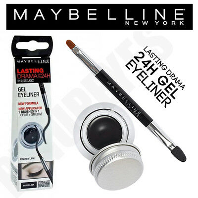 Maybelline Gel Eyeliner - Lasting Drama 24H Black. Brand New. FAST UK DELIVERY!
