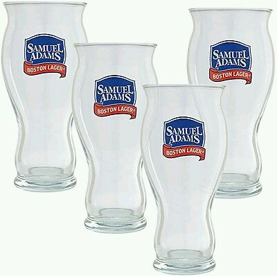 Samuel Adams Boston Lager Perfect Pint Glass (Set of 4) For The Love Of Beer