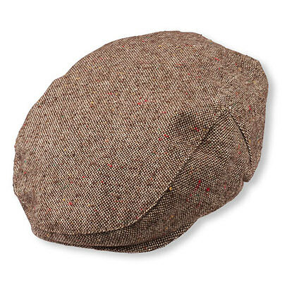NEW Childrens Place Nubby Tweed Newsboy Cap Hat Brown Size 6-12 months