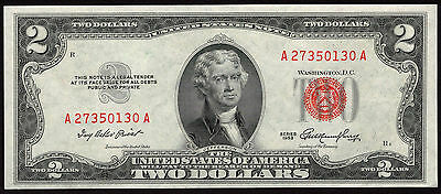 Fr 1509 1953 $2 Legal Tender Note Choice Uncirculated