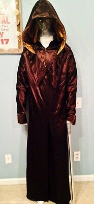 Priest Monsignor Robes & Staff Original Production Made Used Sci Fi Costume Prop